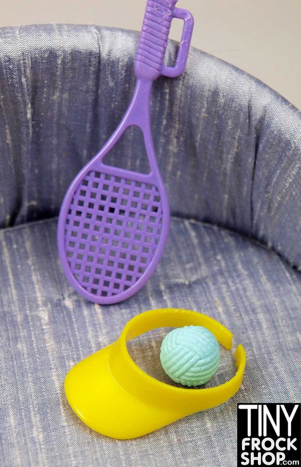 Barbie Purple Tennis Racket Set