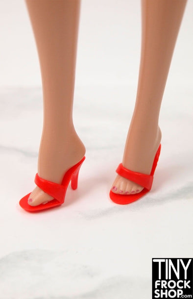 Barbie Quality Peep Toe Stilettos - More Colors - TinyFrockShop.com