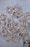 8MM - Barbie High Quality Metal Rhinestone Mini Buckle