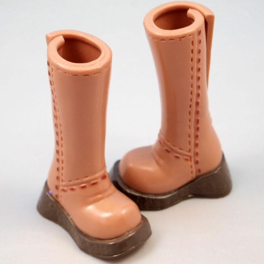 Barbie Rounded Topstitch Boot