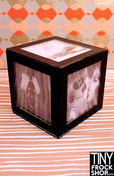 Barbie Size 6 Sided Photography Prints in Cube Frame by Sharon Marie Wright