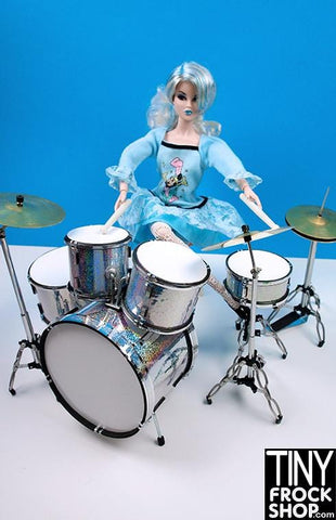Barbie Metal Full Drumset - MORE COLORS AND PATTERNS!