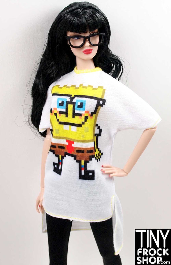 Barbie Spongebob Squarepants Tee Shirt Dress