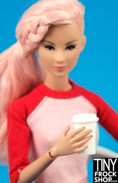 Barbie To Go Coffee Cup
