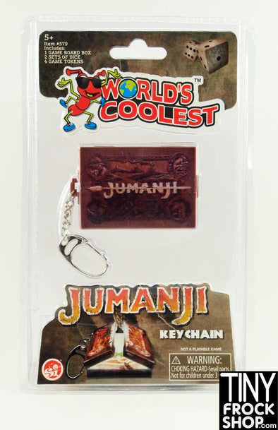 Barbie Sized Mini Jumanji Worlds Smallest Game