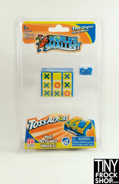 Barbie Sized Mini Toss Across Worlds Smallest Game - TinyFrockShop.com
