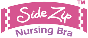 Side Zip Nursing Bra