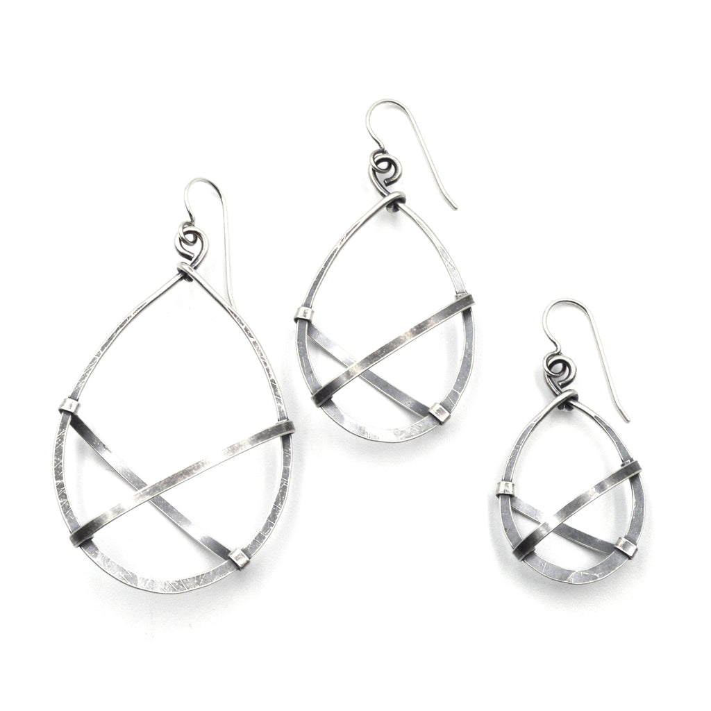 Air Teardrop Hoops