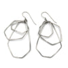 Air Large Polygon Cluster Earrings