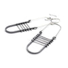 Arch Earrings With Bars
