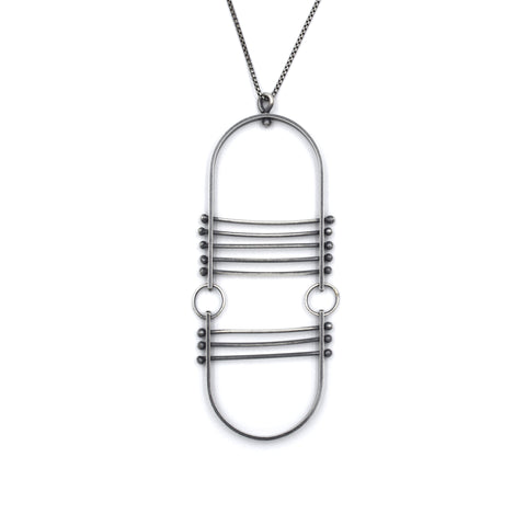 Arch Pendant with Bars