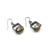 Short Climb Earring in Pyrite
