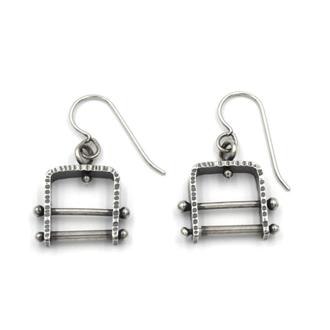 Climb Earrings (Short) with Bars