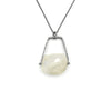 Climb Pendant (Long) in Rainbow Moonstone