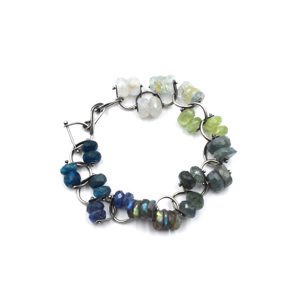 Bridle Bracelet in Coastal Colors