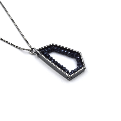 Pentagon Pendant (Medium) in Spinel