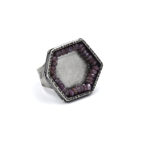 Hexagon Ring in Ruby