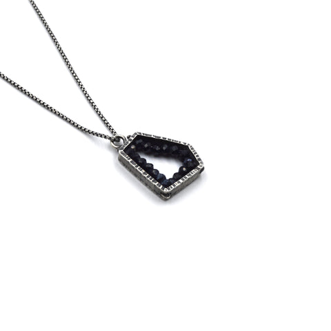 Pentagon Pendant (Small) in Spinel