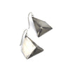 Forged Polygon Earrings