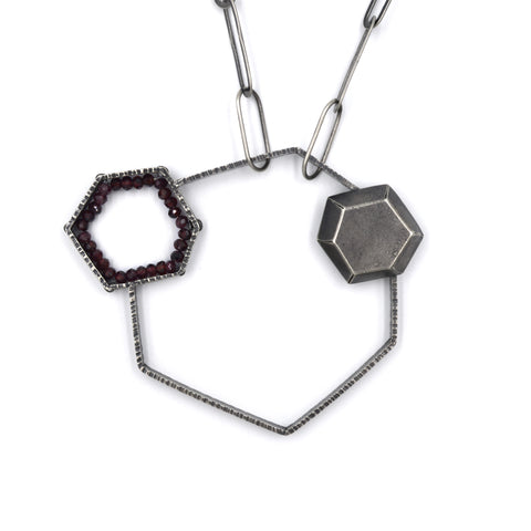Hexagon Garnet Study