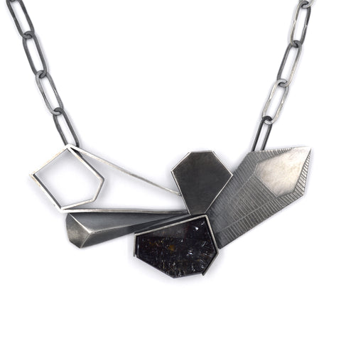 Pentagonal Study Necklace