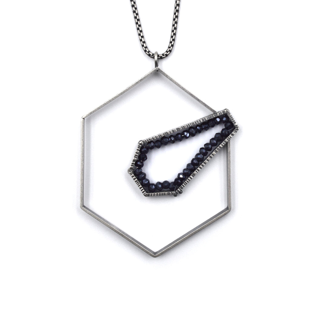 Intersecting Geode Pendant II