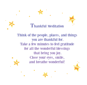 Thankful Meditation for Kids
