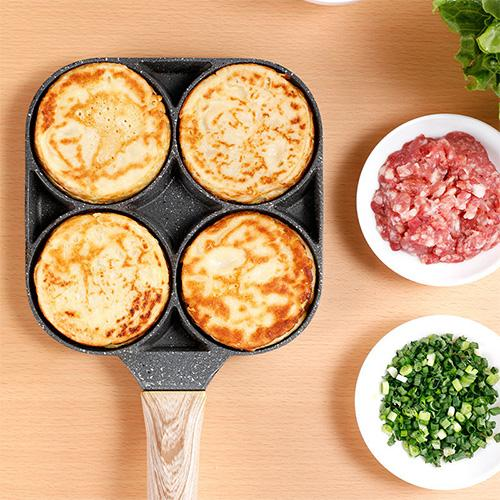 4 Hole Omelet Pan Burger Pot