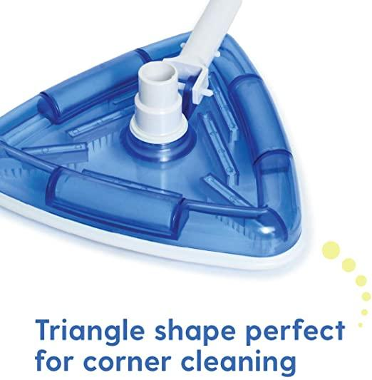 See-Thru Pool Vacuum Head/Triangular