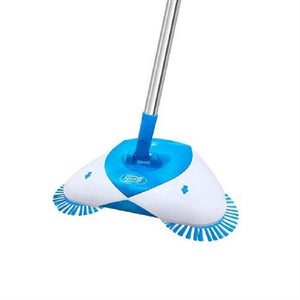 Hurricane Spin Broom Automatic Hand Push Sweeper