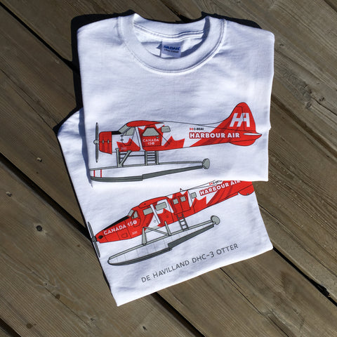 NEW Canada 150 DHC3 Otter T-shirt