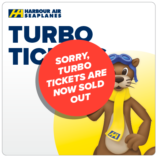 Harbour Air Turbo Tickets