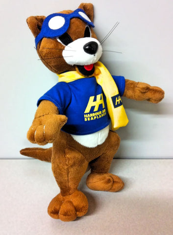 Turbo the Otter plush doll