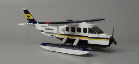 DHC-3 Turbine Otter building block kit