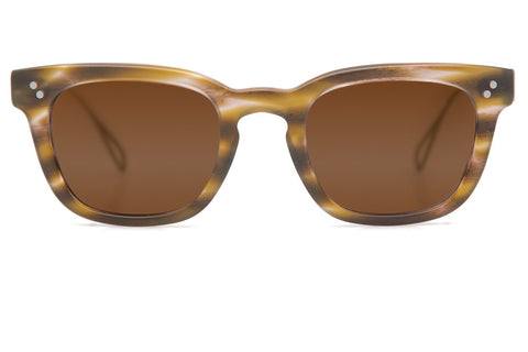 A classic, retro-inspired silhouette, Avery features metal temple tips for effortless style and a comfortable, everyday fit. Free shipping and lifetime warranty. Amber lens and handcrafted matte marais acetate frame.