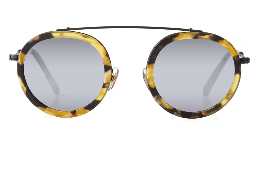 Named for the vibrant French Quarter street, Conti boasts a metal structure, rounded lenses, and a unique brow bridge that provides a seemingly weightless fit, creating an everyday frame unlike any other. As seen on Gigi Hadid. Free shipping and lifetime warranty.  Silver mirrored lens and handcrafted congo acetate frame.