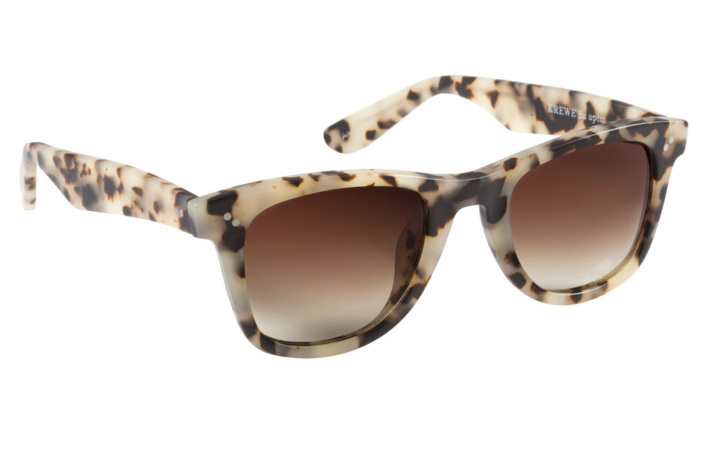 Charles Matte Oyster Sunglasses Angle View