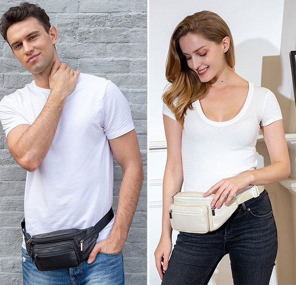 Wearing your fanny pack around your waist