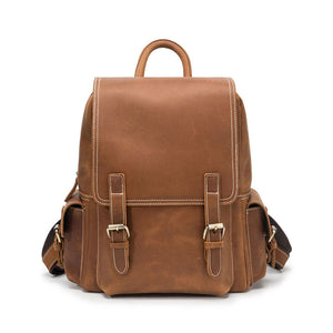 Best vintage leather backpack for sale