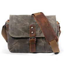 Load image into Gallery viewer, Men's Canvas Messenger Bag for Sale LukeCase