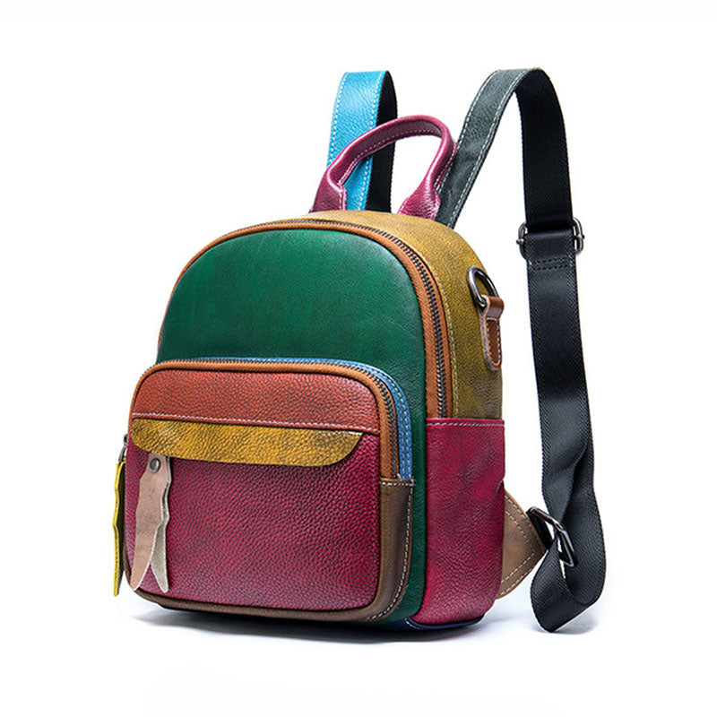 Best women's leather backpack for sale