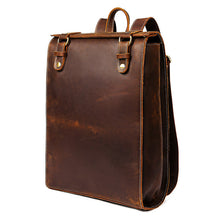 Load image into Gallery viewer, Vintage Genuine Leather Backpack