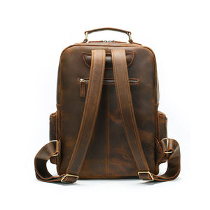 Best men's vintage leather backpack for sale LukeCase