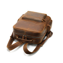 Load image into Gallery viewer, Best men's vintage leather backpack for sale LukeCase