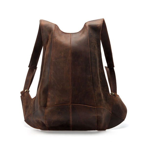 Anti Theft Genuine Leather Backpack