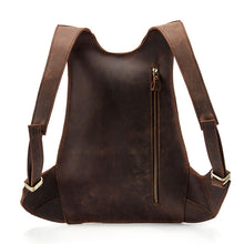 Load image into Gallery viewer, Anti Theft Genuine Leather Backpack