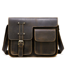 Load image into Gallery viewer, Best Men's Leather Messenger Bag for Sale LukeCase