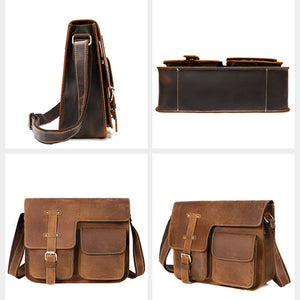 Best Men's Leather Messenger Bag for Sale LukeCase