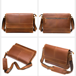 Men's Leather Messenger Bag for Sale LukeCase