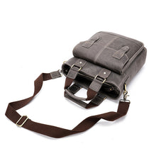 Load image into Gallery viewer, Men's Genuine Leather Crossbody Shoulder Bag